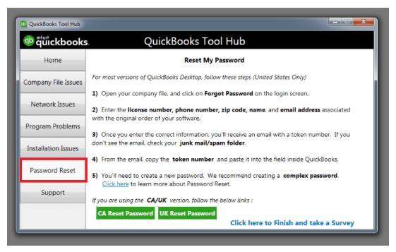 password reset: Download Quickbooks tool hub mac