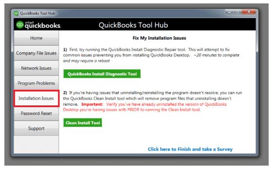 Installation issues: Quickbooks tool hub download Windows