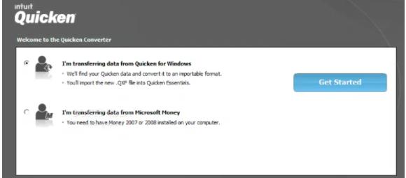 Install Quicken: How to convert Quicken to Quickbooks