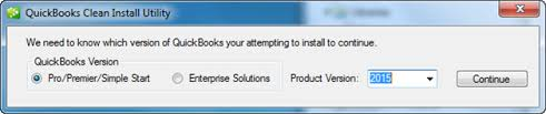 Quickbooks clean install utility: Quickbooks Won't open in Windows 10