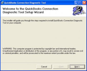 Tool Window: Quickbooks connection diagnostic tool download