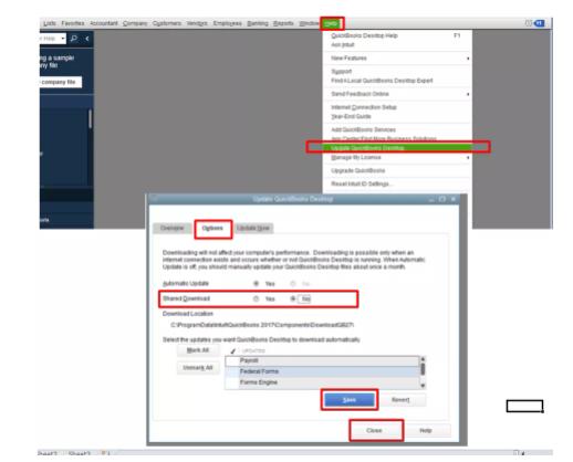 update Quickbooks: Quickbooks error #404