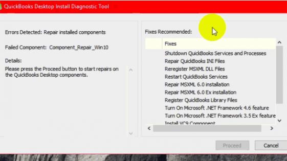 Quickbooks Install diagnostic tool: Quickbooks release update error message 1328