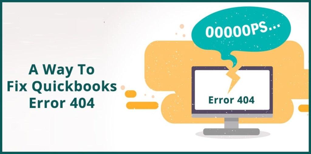 featured image: Quickbooks error 404
