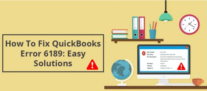 Featured image: Quickbooks error 6189 816